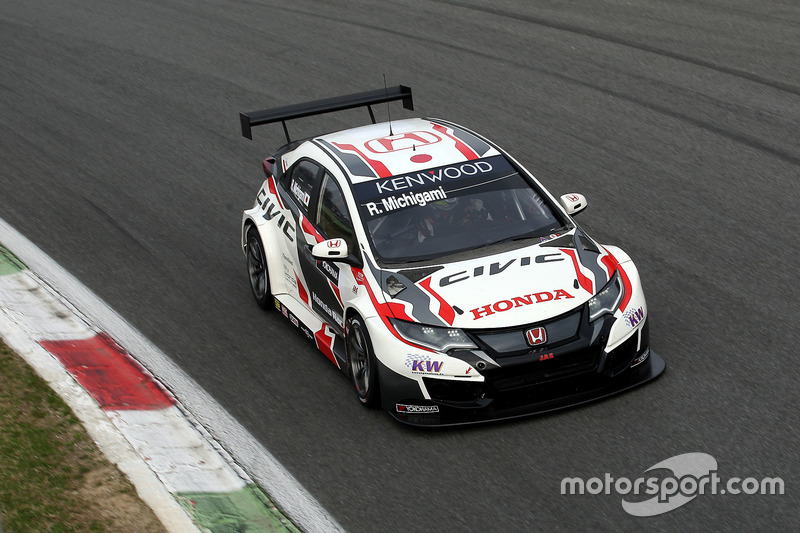n°34 - Ryo Michigami, Honda Racing Team JAS, Honda Civic WTCC