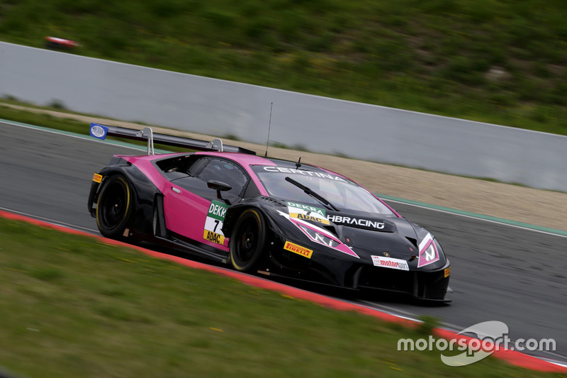 #7 HB Racing WDS Bau, Lamborghini Huracán GT3