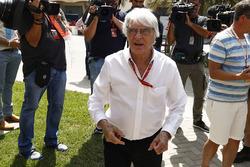 Bernie Ecclestone, Presidente honorario de Formula 1