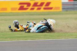Gabriel Rodrigo, RBA Racing Team, crash