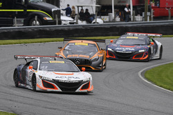 #43 RealTime Racing Acura NSX GT3: Ryan Eversley, Tom Dyer, #93 RealTime Racing Acura NSX GT3: Peter Kox, Mark Wilkins