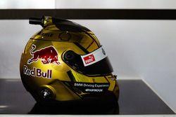 Diseño especial del casco de Martin Tomczyk, BMW Team Schnitzer