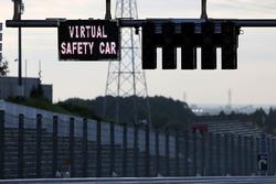 Anzeige: Virtuelle Safety-Car-Phase