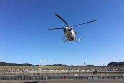 Jorge Lorenzo, Yamaha Factory Racing, héliporté à l'hôpital après sa chute