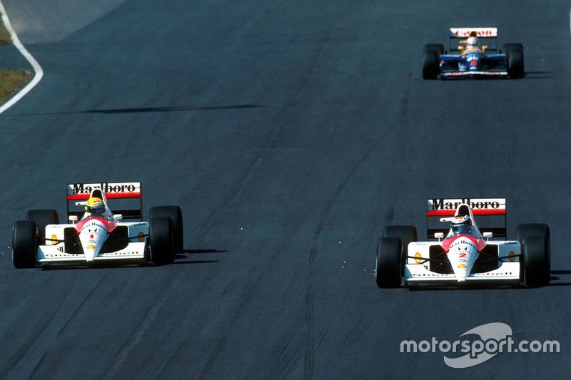 マクラーレンMP4/6・ホンダ(アイルトン・セナとゲルハルト・ベルガー/1991年日本GP)