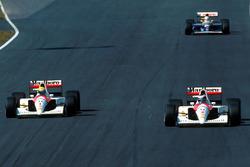 Айртон Сенна и Герхард Бергер, McLaren Honda