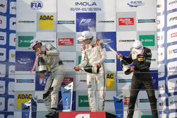 Podium: George Russell, HitechGP Dallara F312 – Mercedes-Benz; Lance Stroll, Prema Powerteam Dallara