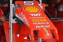Ferrari SF16-H neus detail