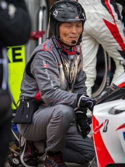Toyota Gazoo Racing mechanic