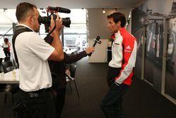 Mark Webber, Porsche Team en interview avec Motorsport.com