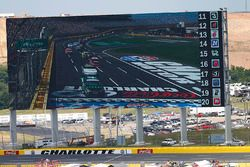 Big screen at Charlotte