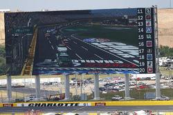 Big screen at Charlotte