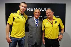 Sergey Sirotkin, Renault Sport F1 Team piloto de pruebas, Boris Rotenberg, SMP Banco y co-propietar