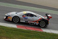 #133 Kessel Racing, Ferrari 458: Murat Ruhi Cuhadaroglu