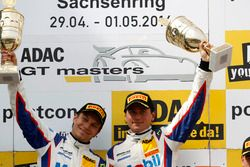 Podio: #1 AMG - Team Zakspeed Mercedes-AMG GT3: Luca Ludwig, Sebastian Asch