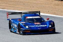 #90 VisitFlorida.com Racing Corvette DP : Marc Goossens, Ryan Dalziel