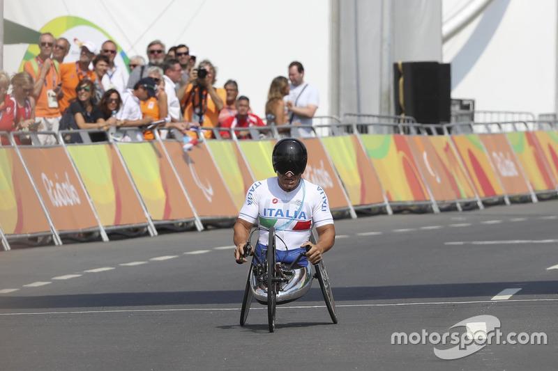 Alex Zanardi en los Juegos Paralímpicos de Río de Janeiro