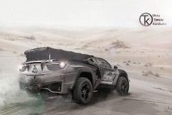Dakar 2020 Fantezi Konsept Tasarım