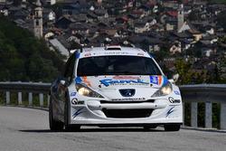 Paolo Oriella, Sandra Tommasini, Peugeot 207 Super 2000, Sport & Comunicazione