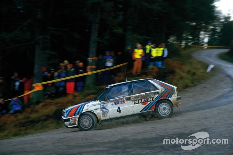 1987: Юха Канккунен, Lancia Delta HF 4WD