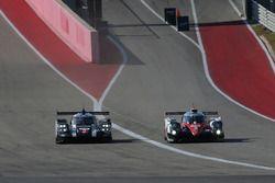 #2 Porsche Team, Porsche 919 Hybrid: Romain Dumas, Neel Jani, Marc Lieb; #5 Toyota Racing, Toyota TS