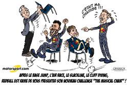 L'humeur de Cirebox - Les chaises musicales de Red Bull