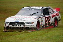 Abflug: Ryan Blaney, Team Penske, Ford