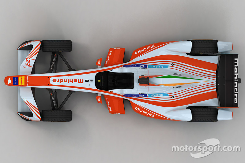 Mahindra Racing livery