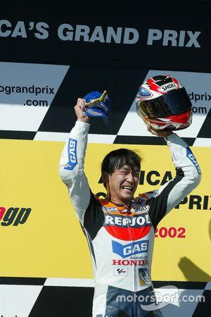 Race winner Tohru Ukawa