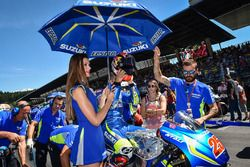 Grid girl of Maverick Viñales, Team Suzuki MotoGP