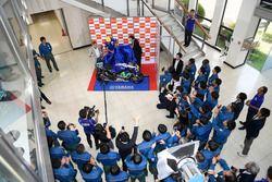 Valentino Rossi, Movistar Yamaha MotoGP visit X refinery and R&D Center in Yokohama