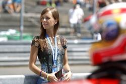 Liri Farfus, moglie di Augusto Farfus, BMW Team MTEK, BMW M4 DTM
