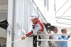 Podio: Jamie Green, Audi Sport Team Rosberg, Audi RS 5 DTM