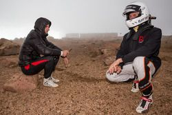 Romain Dumas and Raphaël Astier brace for bad weather at the summit
