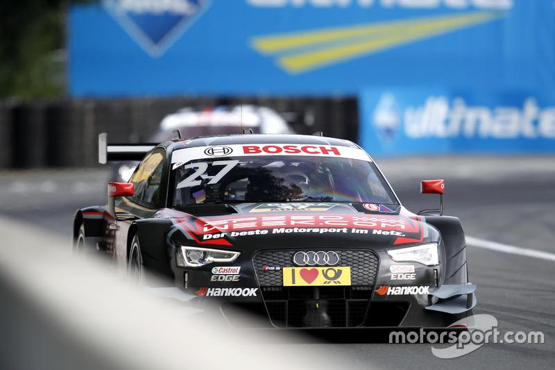 Ausgefallen: Adrien Tambay, Audi Sport Team Rosberg, Audi RS 5 DTM