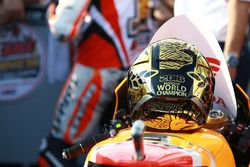 Le casque de Marc Marquez, Repsol Honda Team