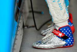 Schuhe von Danica Patrick, Stewart-Haas Racing, Chevrolet