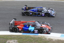 #24 Oak Racing Ligier JSP3 - Nissan: Jacques Nicolet, Pierre Nicolet; #6 360 Racing Ligier JSP3 - Ni