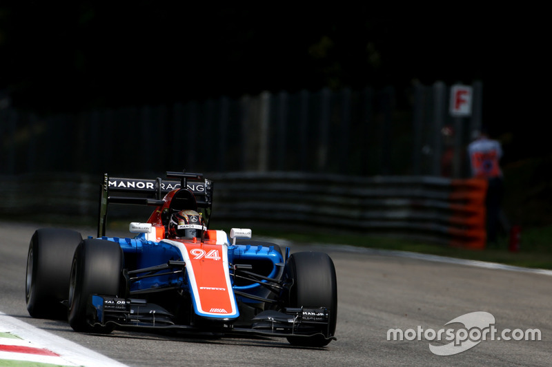 Ausgefallen: Pascal Wehrlein, Manor Racing