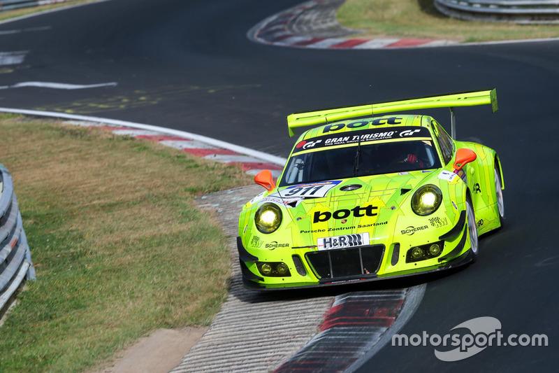 VLN 7: #911 Manthey Racing, Porsche GT3R: Jörg Bergemeister, Patrck Pilet