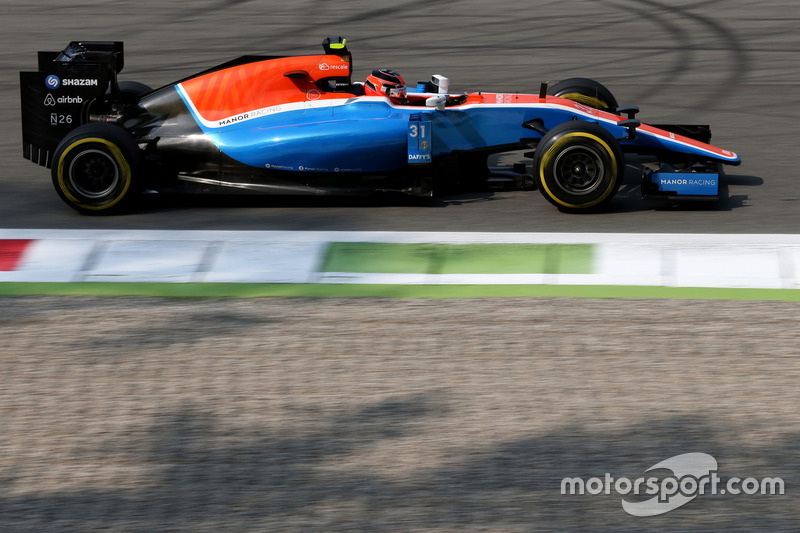 22: Esteban Ocon, Manor Racing