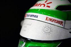 Шлем Нико Хюлькенберга, Sahara Force India F1