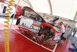 Zone de l'équipe Citroën World Rally