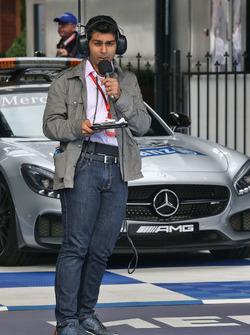 Karun Chandhok, Channel 4, Technischer Analist