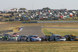Martin Ponte, Nero53 Racing Dodge, Juan Manuel Silva, Catalan Magni Motorsport Ford, Christian Ledes