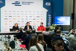 Conferenza stampa dell'ePrix di Berlino