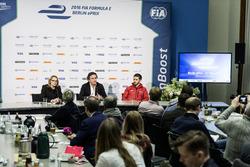Conferencia de prensa del ePrix de Berlín