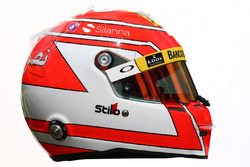 Le casque de Felipe Nasr, Sauber