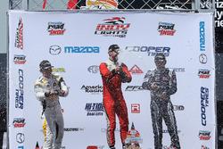 Podium: 1. Felix Serralles, Carlin; 2. Scott Hargrove, Team Pelfrey; 3. Kyle Kaiser, Juncos Racing