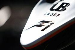 Sahara Force India F1 VJM09 burun detay